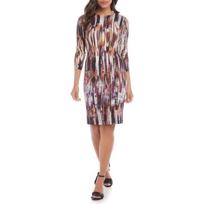Karen Kane Print Sheath Dress, None