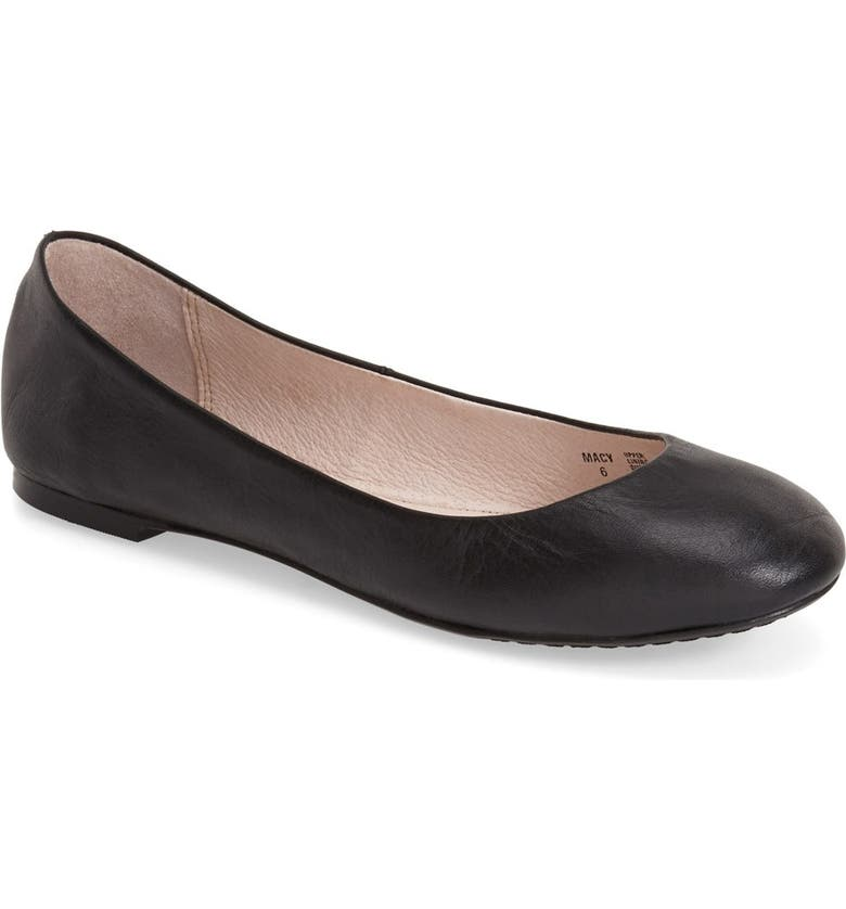 THE PEOPLE'S MOVEMENT 'Macy' Ballet Flat, Main, color, 001