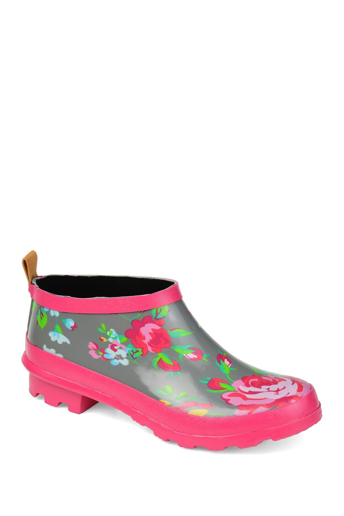 Image of JOURNEE Collection Rainer Ankle Rain Bootie