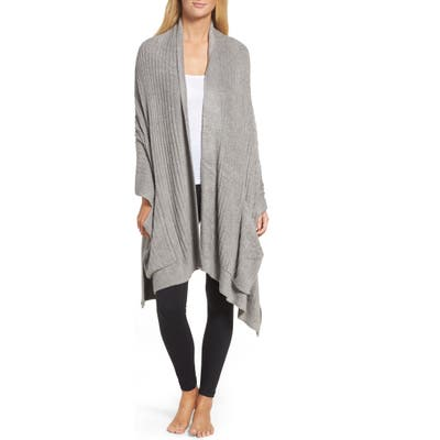 Barefoot Dreams Cozychic(TM) Lite Travel Shawl, Size One Size - Grey