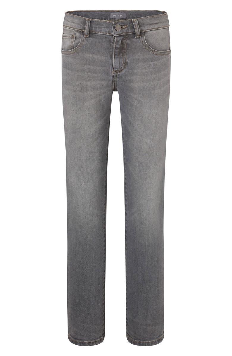 DL1961 Brady Slim Fit Jeans, Main, color, STATUE