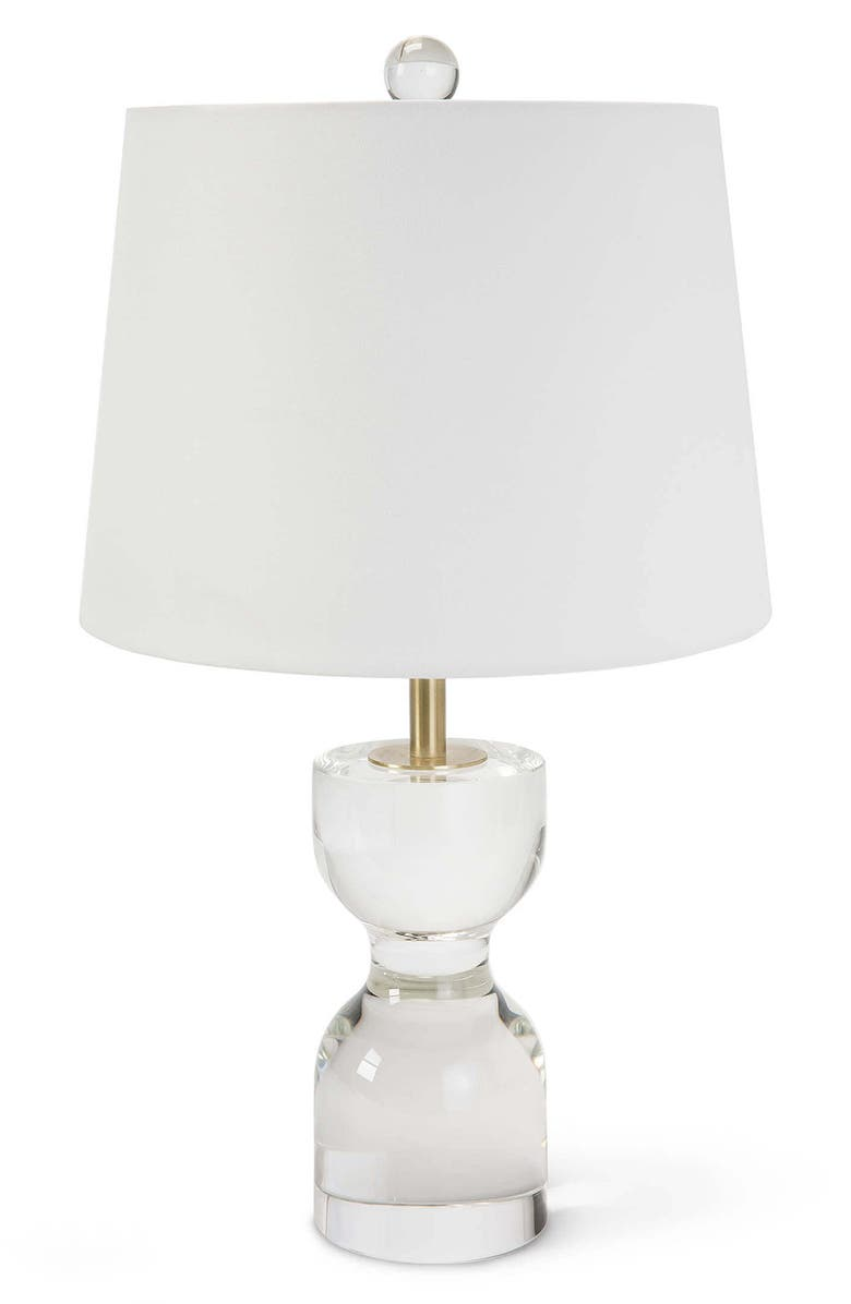 REGINA ANDREW DESIGN Joan Crystal Table Lamp, Main, color, WHITE MULTI