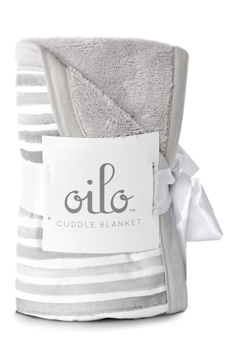OILO Ink Cuddle Blanket, Main, color, STONE