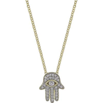 Bony Levy Hamsa Diamond Pendant Necklace (Nordstrom Exclusive)