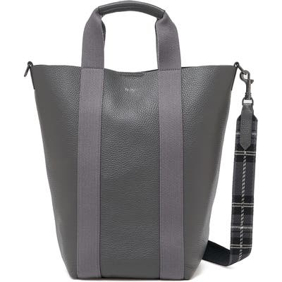 Botkier Sutton Place Convertible Leather Shopper - Grey