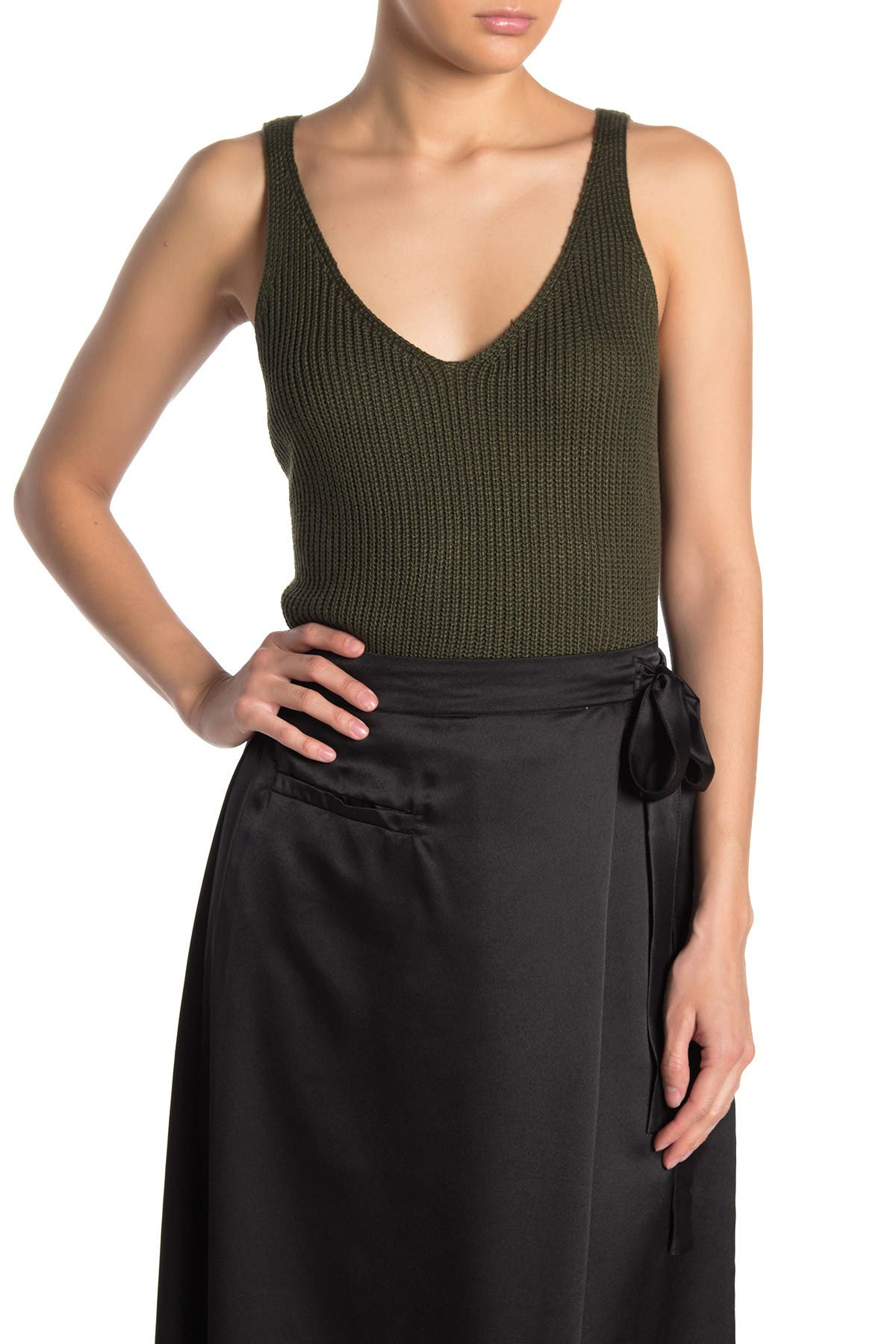 Image of Six Crisp Days Cropped Sweater Tank