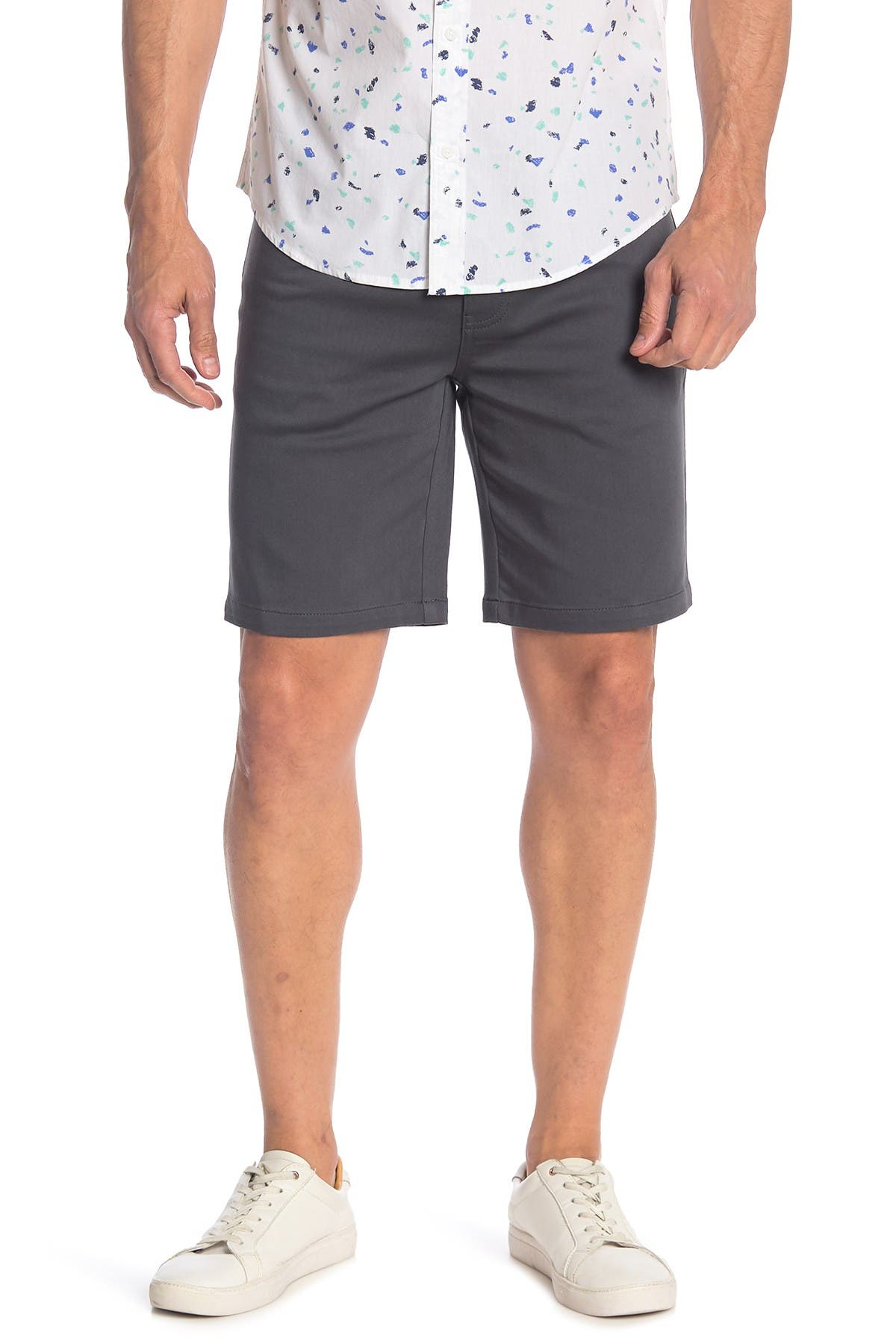 Image of Public Opinion 5 Pocket Stretch Shorts
