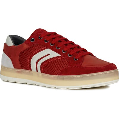 Geox Ariam 12 Sneaker, Red