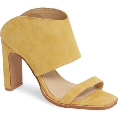 42 Gold Linx Slide Sandal- Yellow