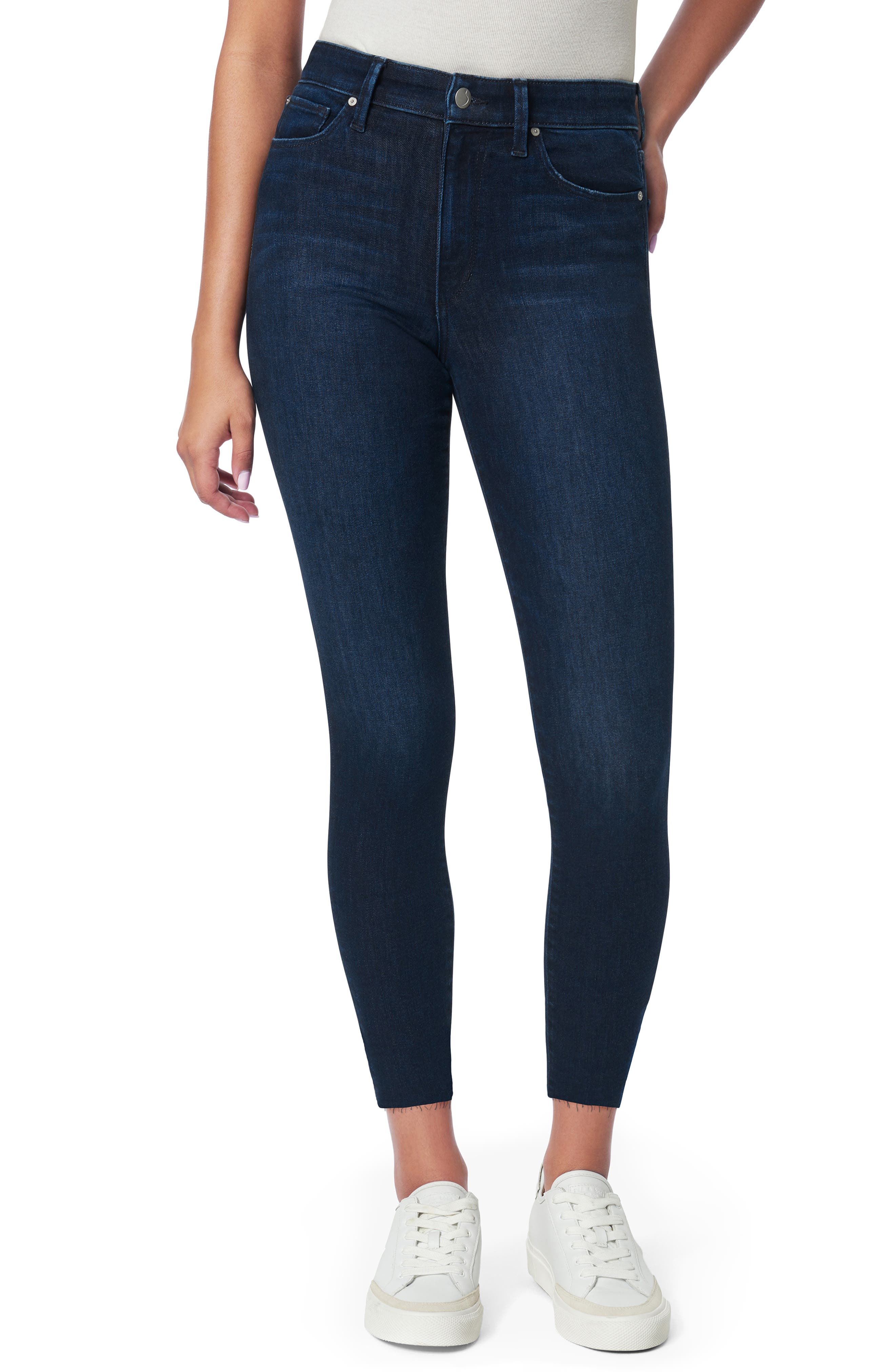 Women's Joe's The Charlie High Waist Crop Skinny Jeans,  26 - Blue