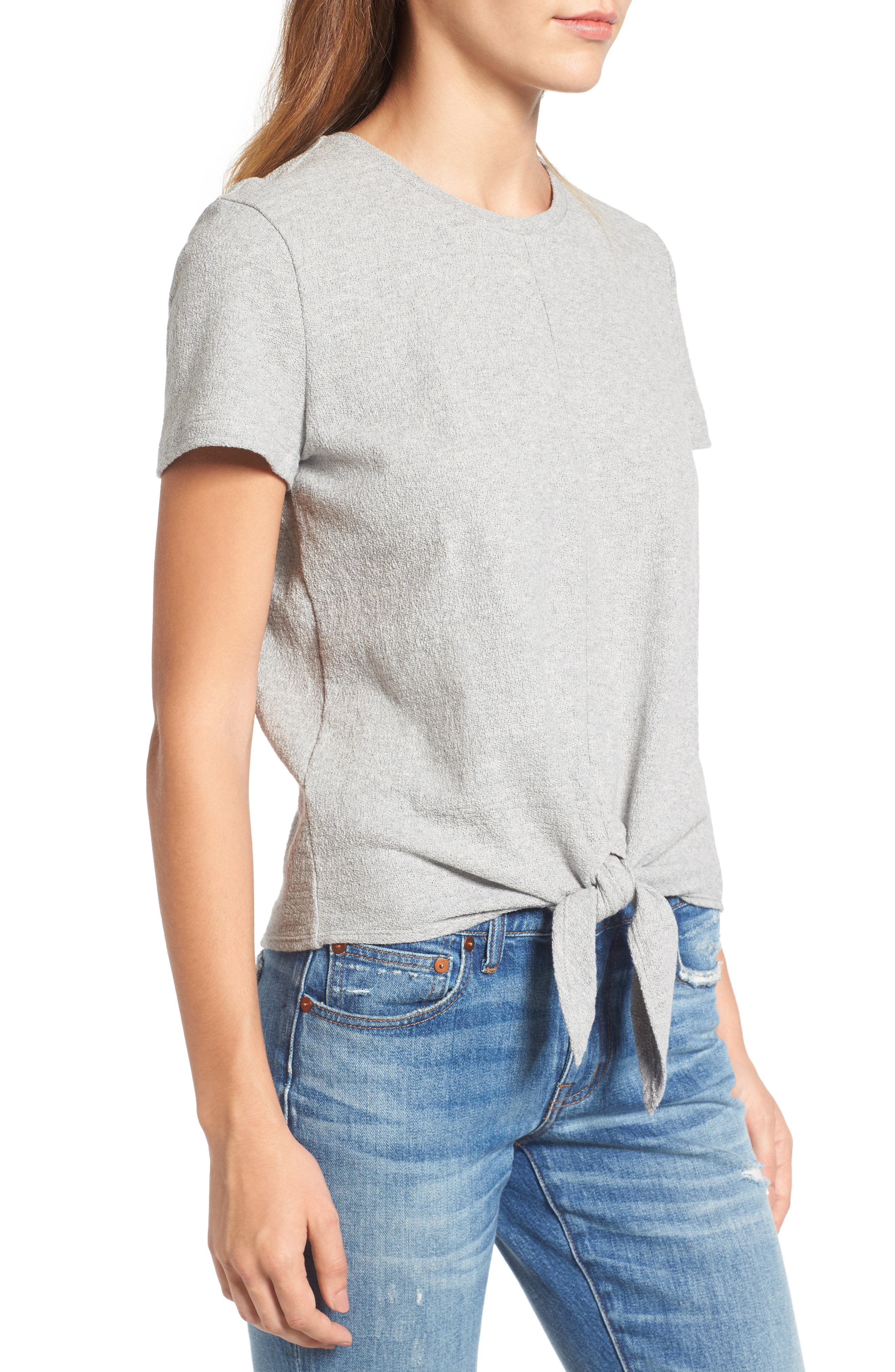 ,                             Modern Tie Front Tee,                             Alternate thumbnail 24, color,                             025