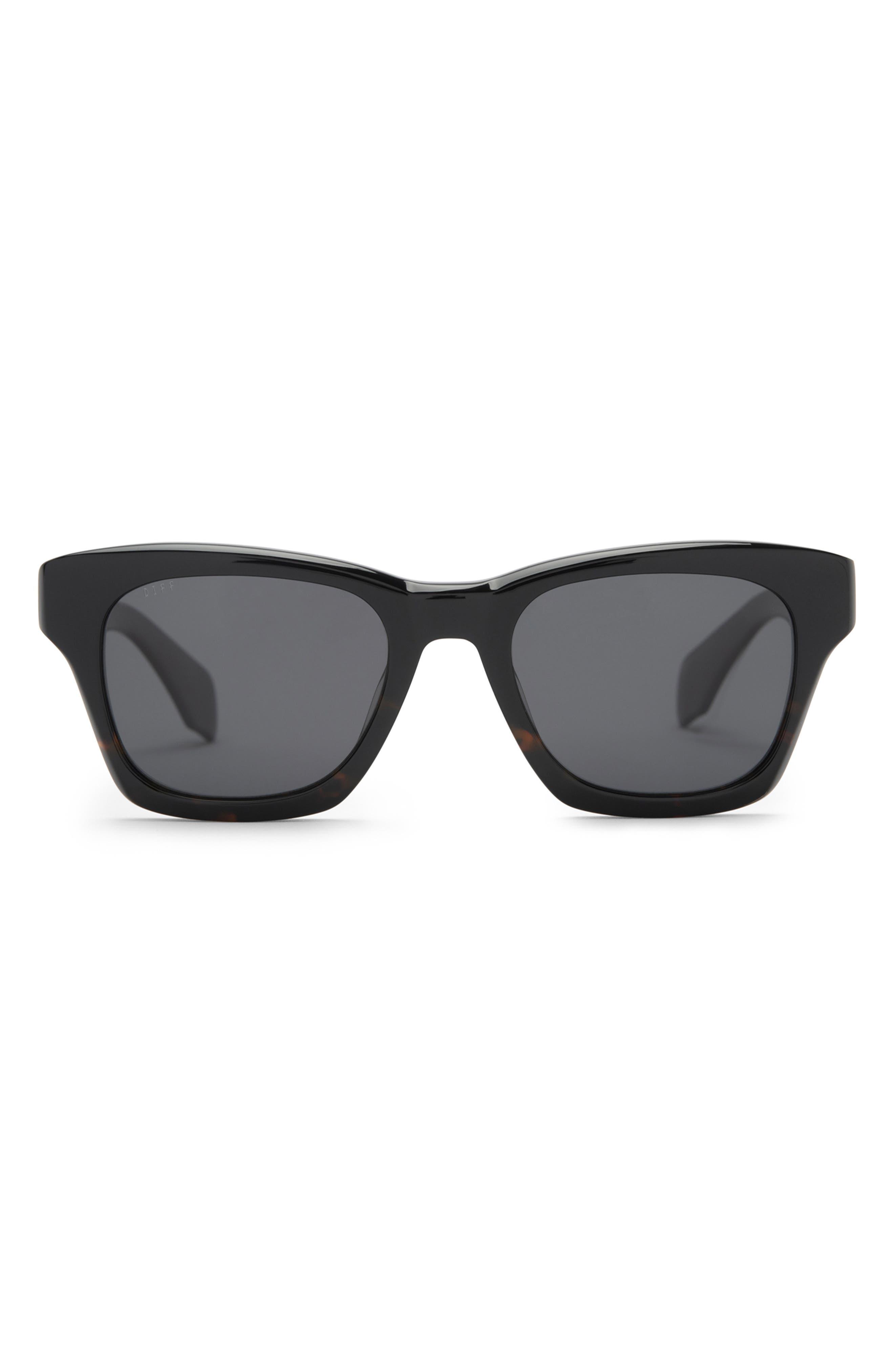 Dean 51mm Polarized Square Sunglasses