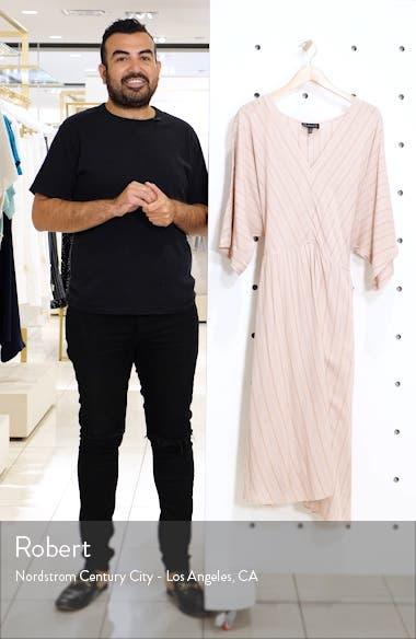 Stripe Dolman Sleeve Dress, sales video thumbnail