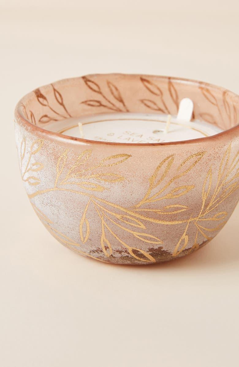 ANTHROPOLOGIE HOME Sea Salt Lavender Candle, Main, color, SEA SALT LAVENDER