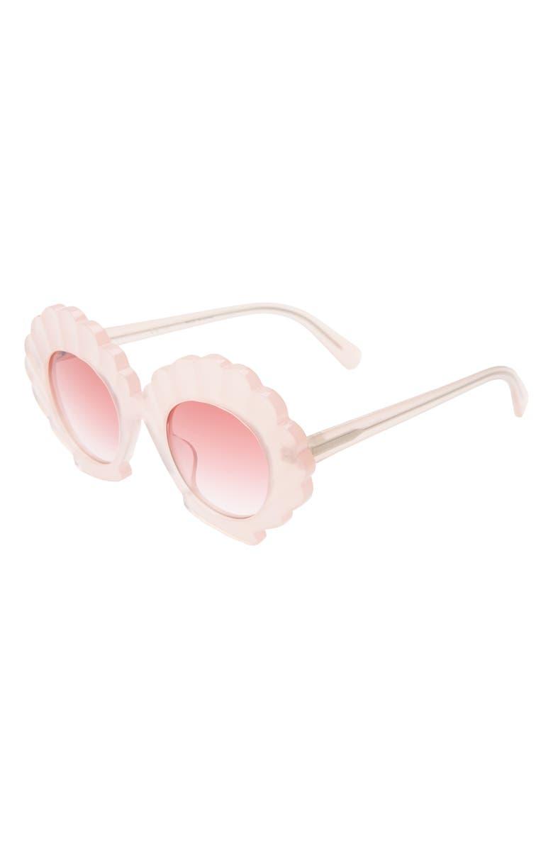 STELLA MCCARTNEY KIDS 43mm Seashell Sunglasses, Main, color, PINK