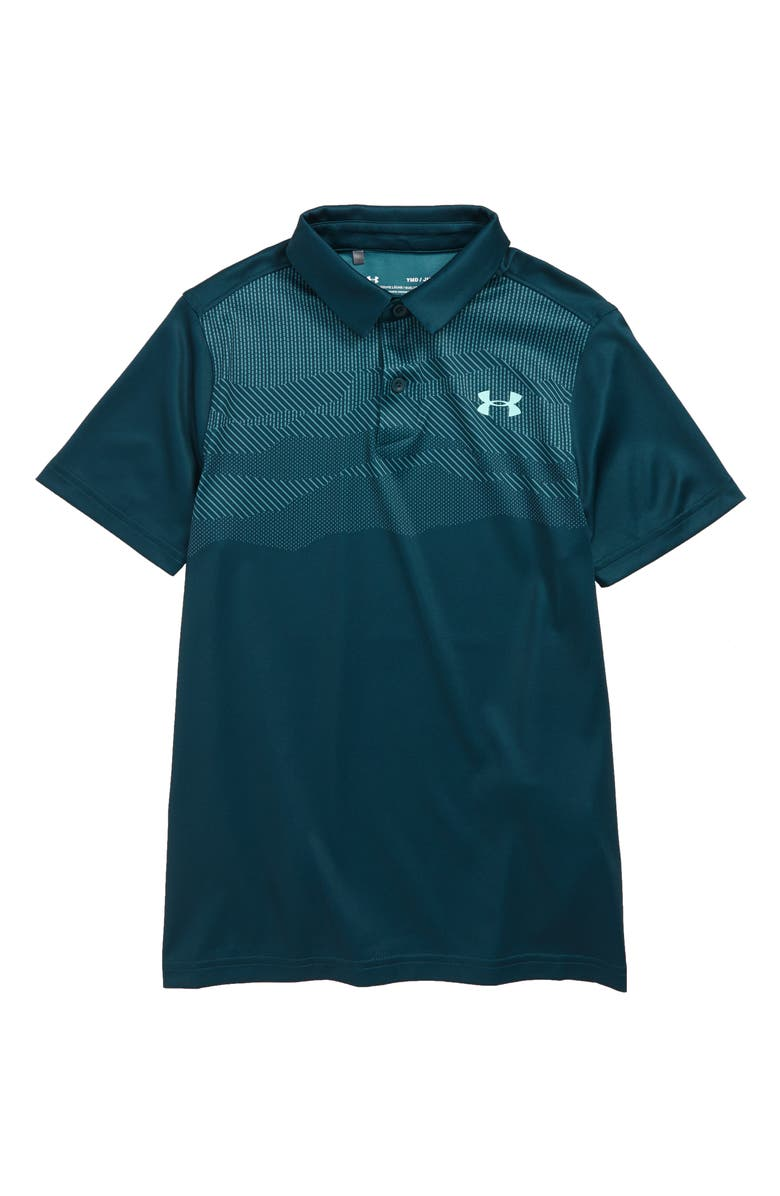 UNDER ARMOUR Vanish Engineered Performance Polo, Main, color, 366