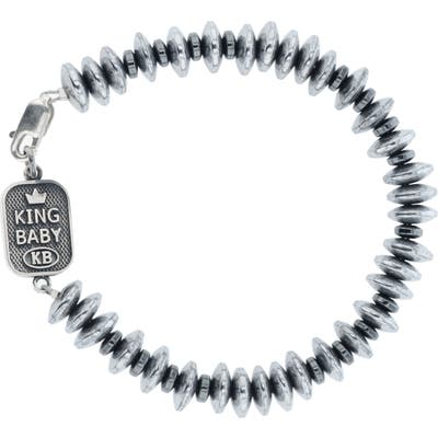 King Baby Hematite Bead Bracelet