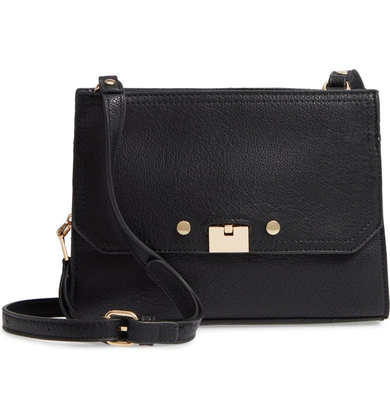 SOLE SOCIETY Kaii Crossbody Bag, Main, color, 001