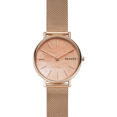 Skagen Signatur Mesh Strap Watch,