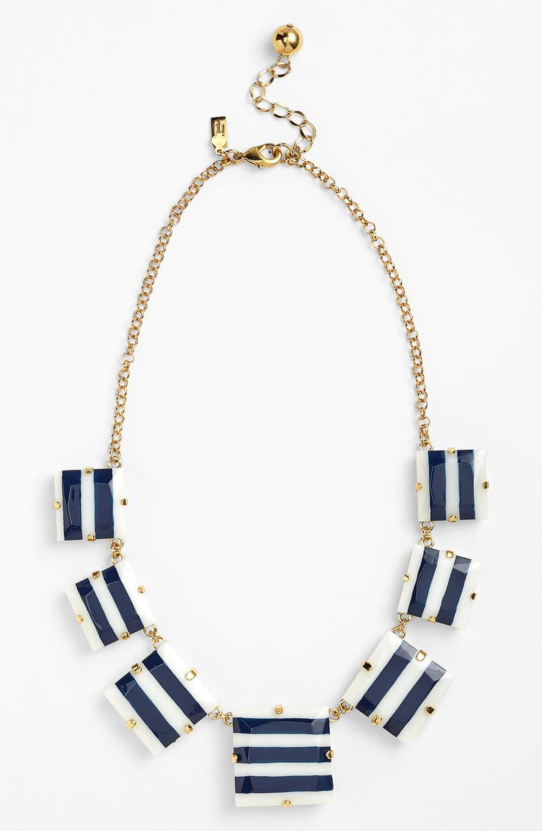 KATE SPADE NEW YORK frontal necklace, Main, color, 410