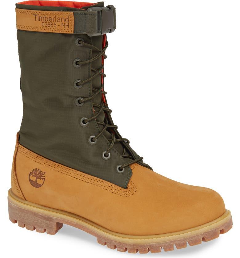 TIMBERLAND Premium Gaiter Plain Toe Boot, Main, color, 231