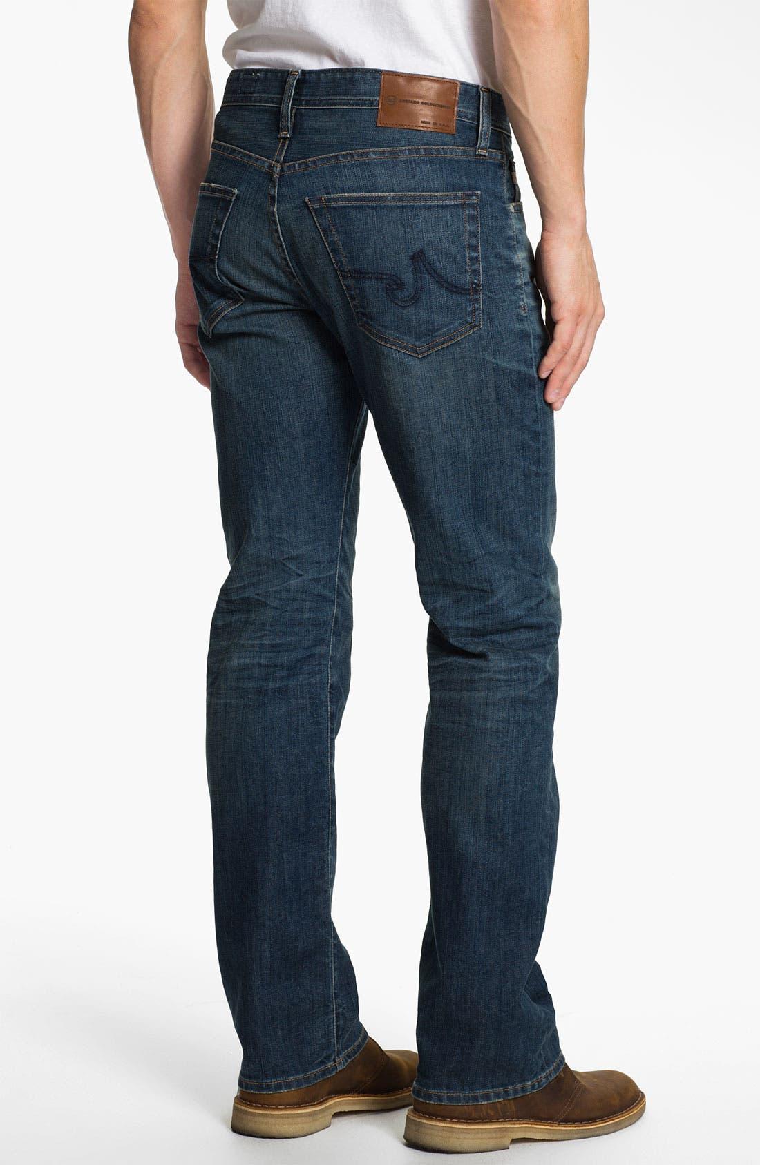 ,                             'Protégé' Straight Leg Jeans,                             Alternate thumbnail 16, color,                             407
