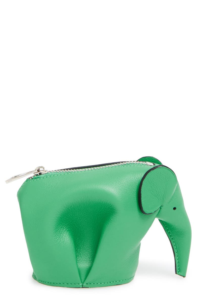 LOEWE Elephant Coin Purse, Main, color, 300