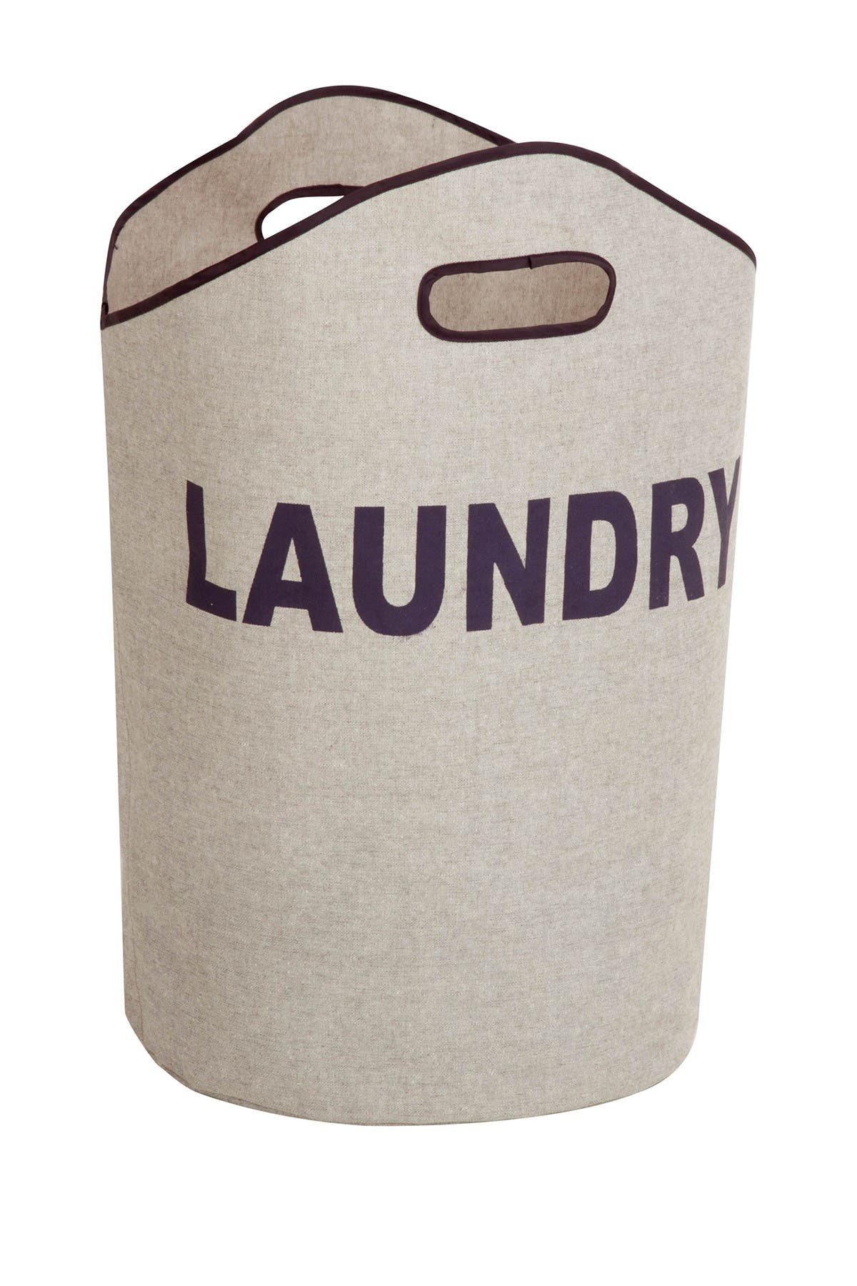Image of Honey-Can-Do Gray Laundry Tote
