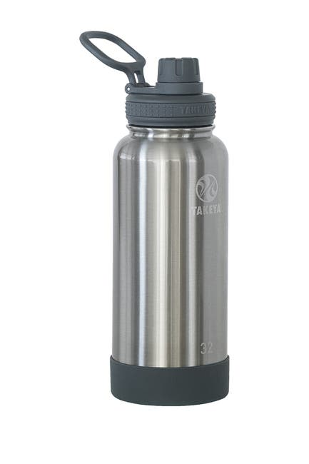 Image of Takeya Actives 32 oz. Spout Bottle - Steel