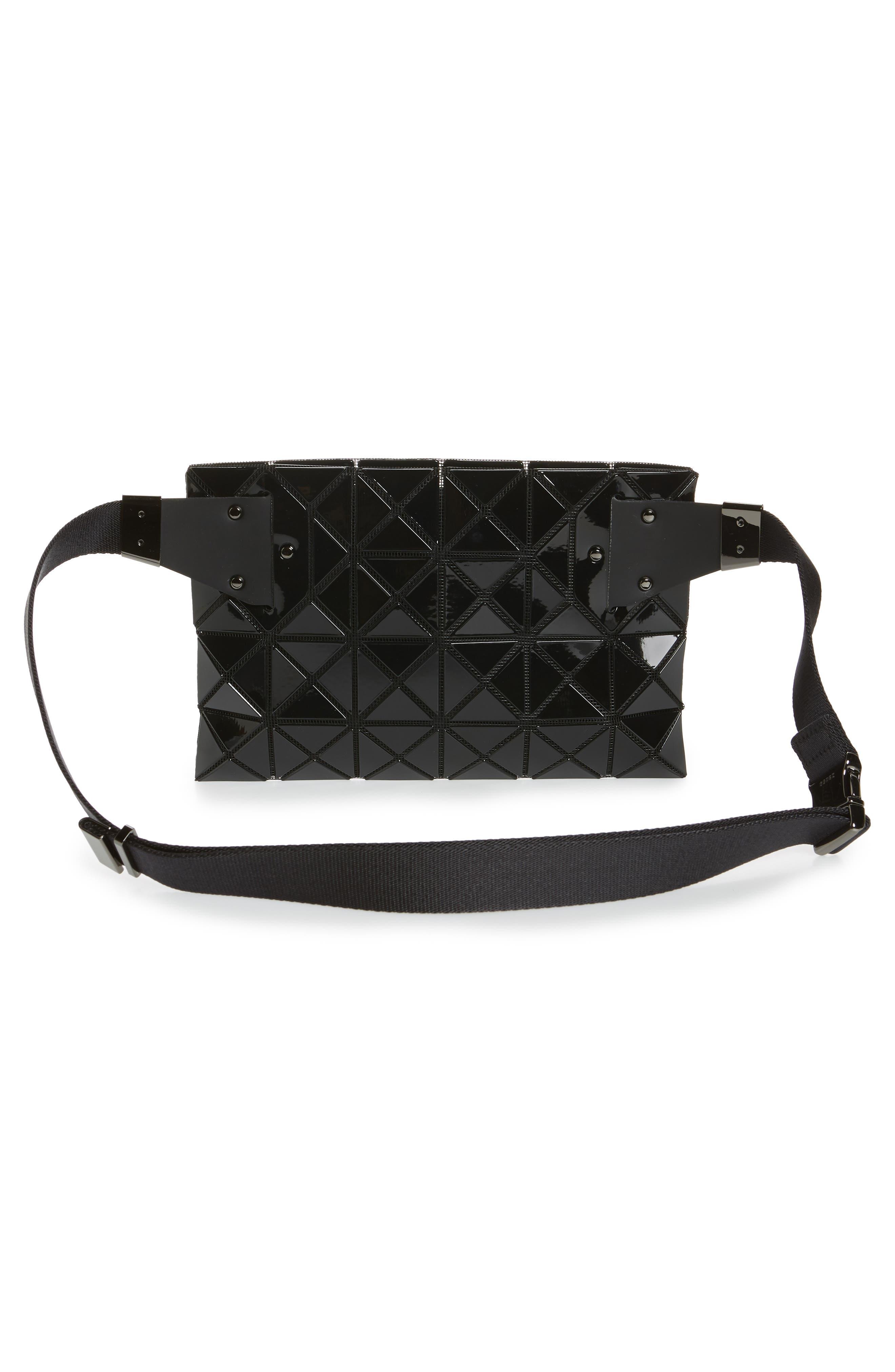 ,                             Prism Belt Bag,                             Alternate thumbnail 5, color,                             JET BLACK