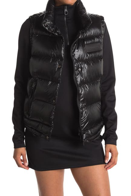 Image of Burberry Cory Puffer Vest