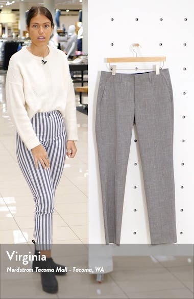 Jetsetter Slim Fit Flat Front Suit Trousers, sales video thumbnail