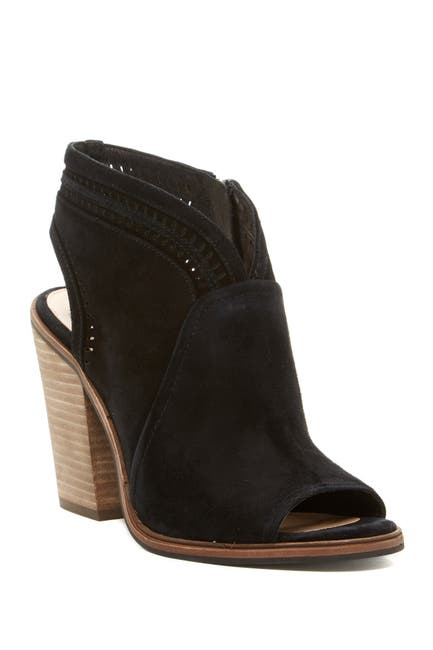 Image of Vince Camuto Koral Perforated Open Toe Bootie