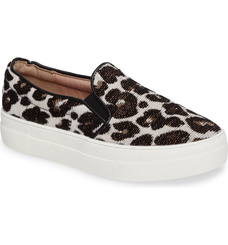 TOPSHOP Tucker Leopard Print Slip-On Sneaker, Main, color, 211