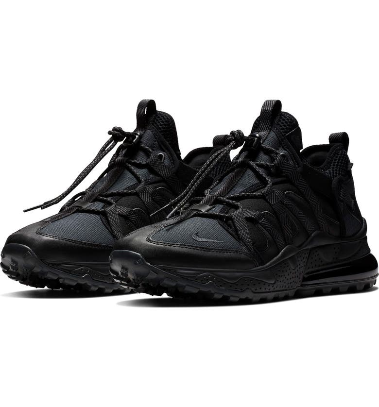 NIKE Air Max 270 Bowfin Sneaker, Main, color, BLACK/ ANTHRACITE-BLACK