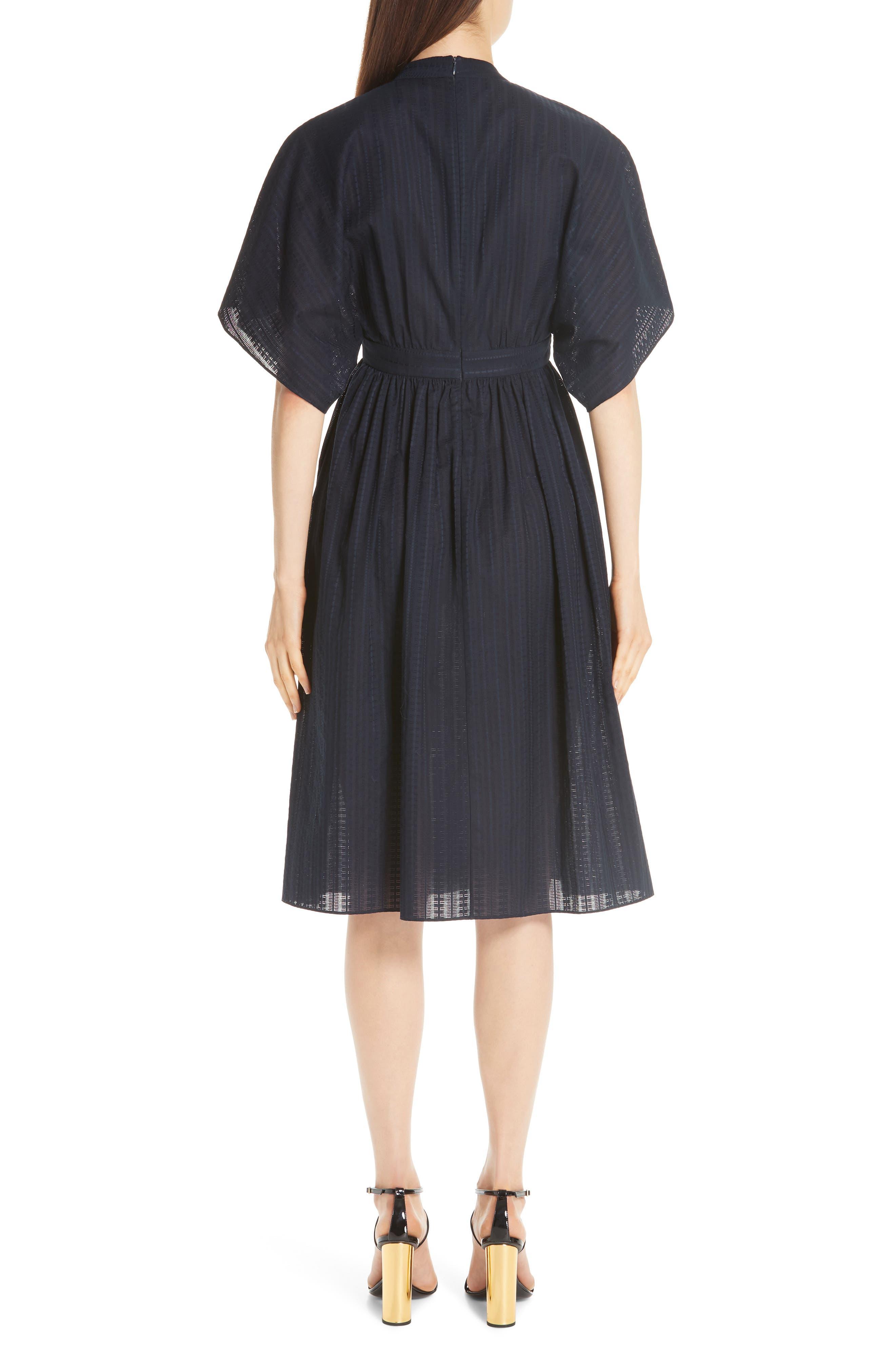 ,                             Swiss Voile Dress,                             Alternate thumbnail 2, color,                             NAVY