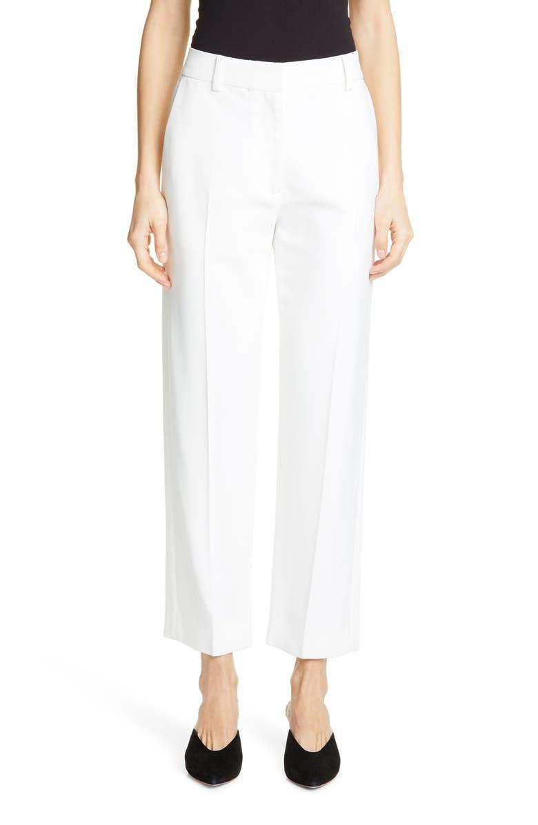 KHAITE Catherine Straight Leg Crop Pants, Main, color, 900