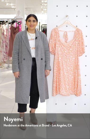 Floral Halter Neck Georgette Maxi Dress, sales video thumbnail