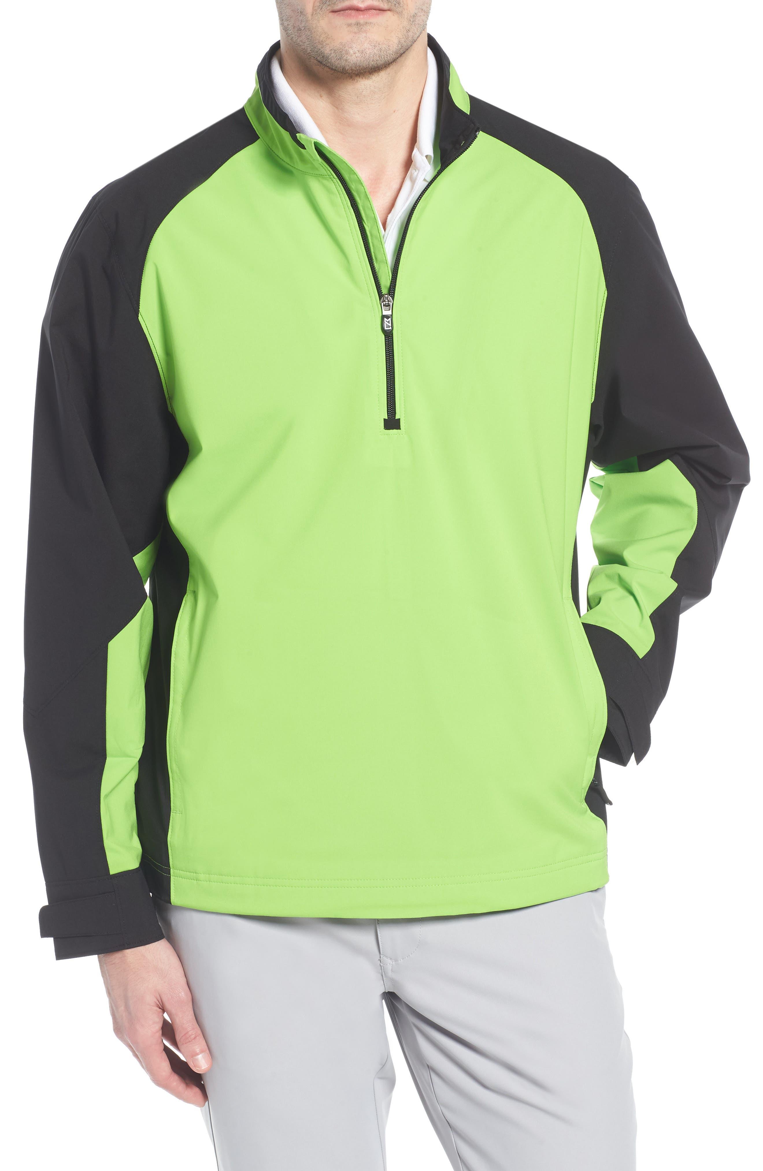 'Summit' WeatherTec Wind & Water Resistant Half Zip Jacket, Main, color, 321