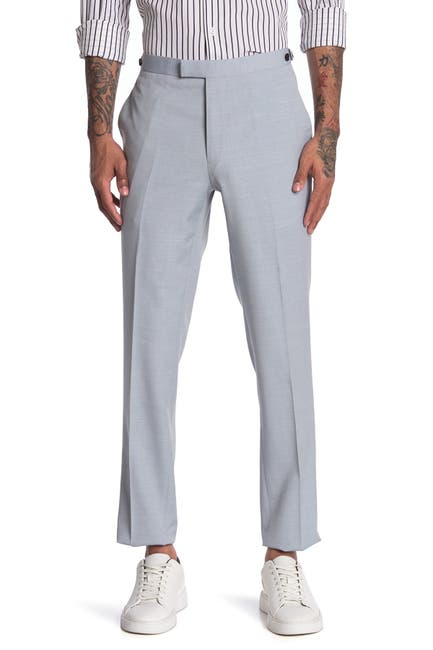 Image of REISS Exquisite Plain Wool Line Trousers