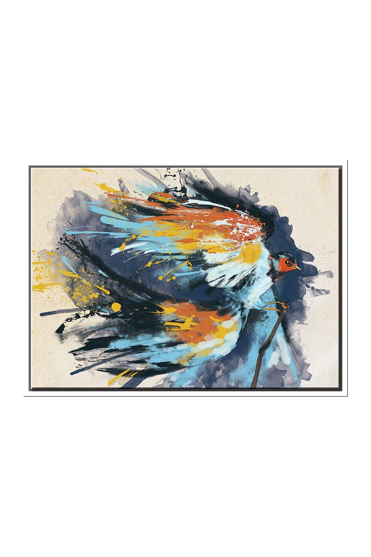 Image of PTM Images Bird in Flight-Medium Floater Framed Canvas