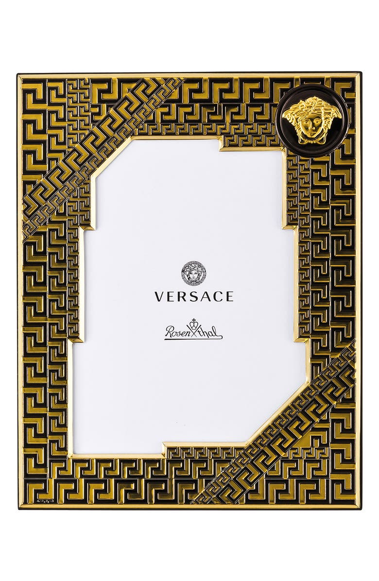 VERSACE Picture Frame, Main, color, BLACK