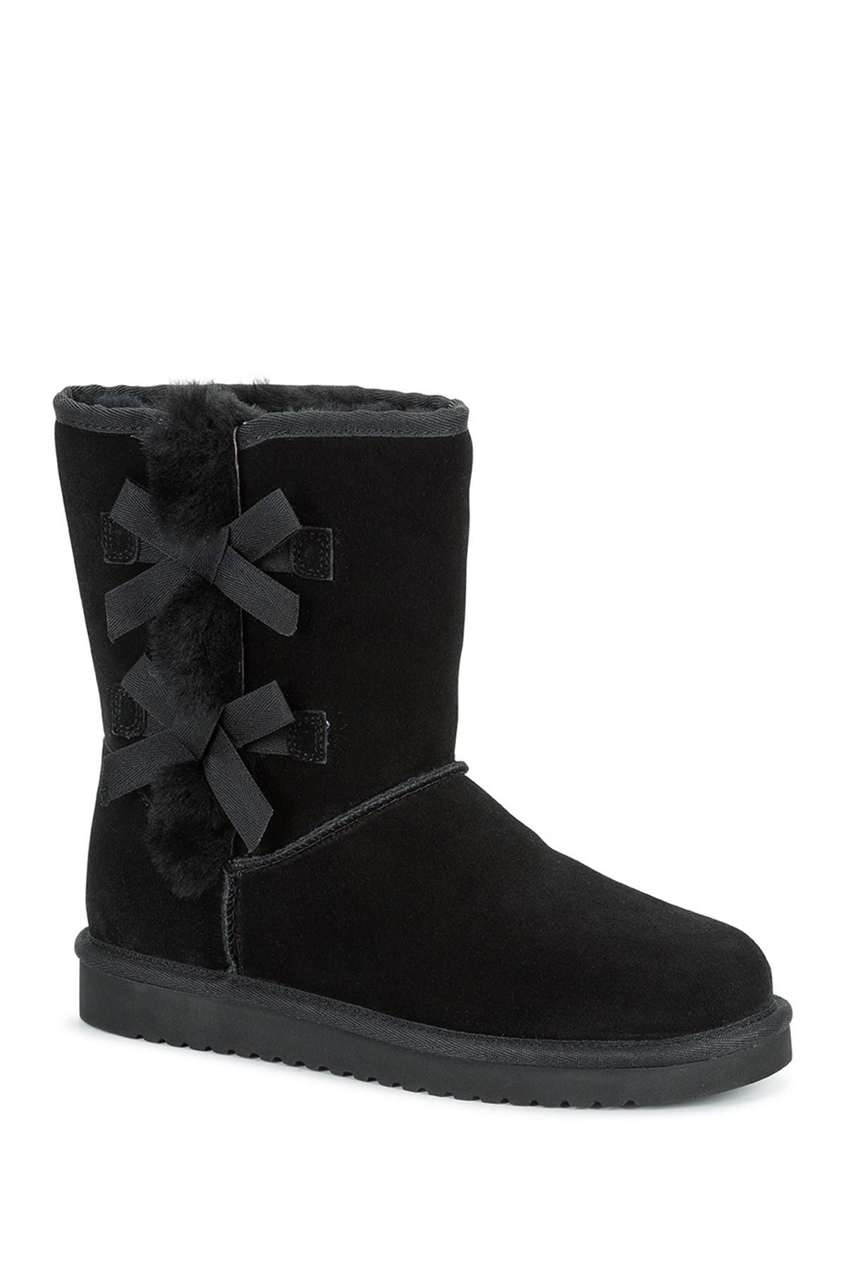 Image of KOOLABURRA BY UGG Victoria Short Genuine Shearling & Faux Fur Boot