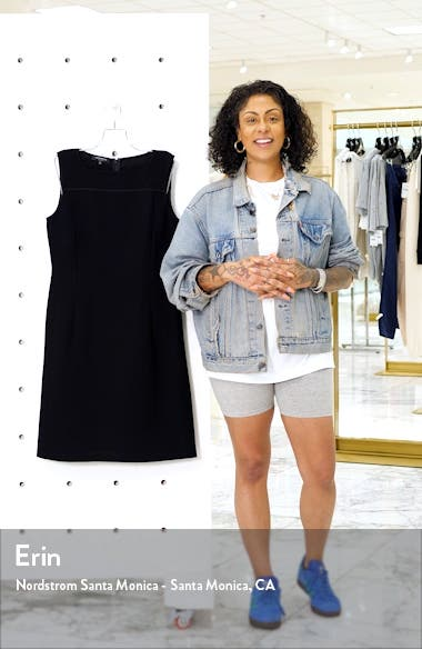 Jojo Wool Crepe Sheath Dress, sales video thumbnail