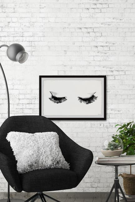 Image of Marmont Hill Inc. Full Lashes Wall Art
