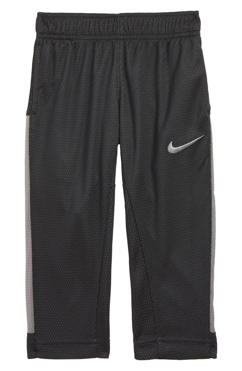 NIKE Dry Trophy Pants, Main, color, BLACK