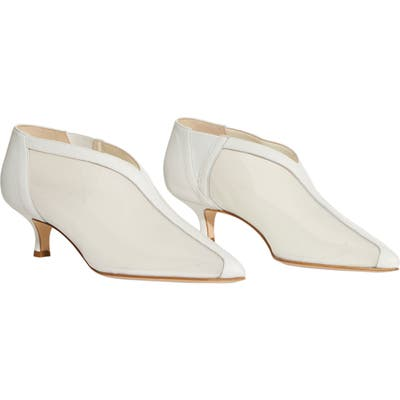 Tibi Joe Bootie - White