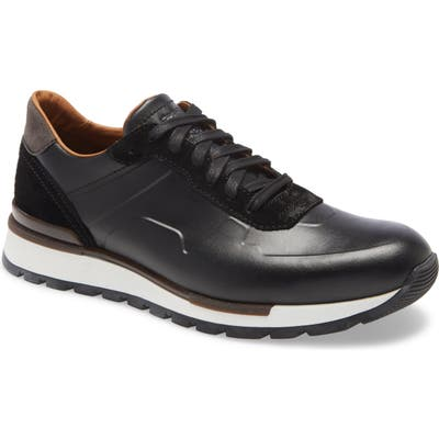 Bruno Magli Davio Low Top Sneaker- Black