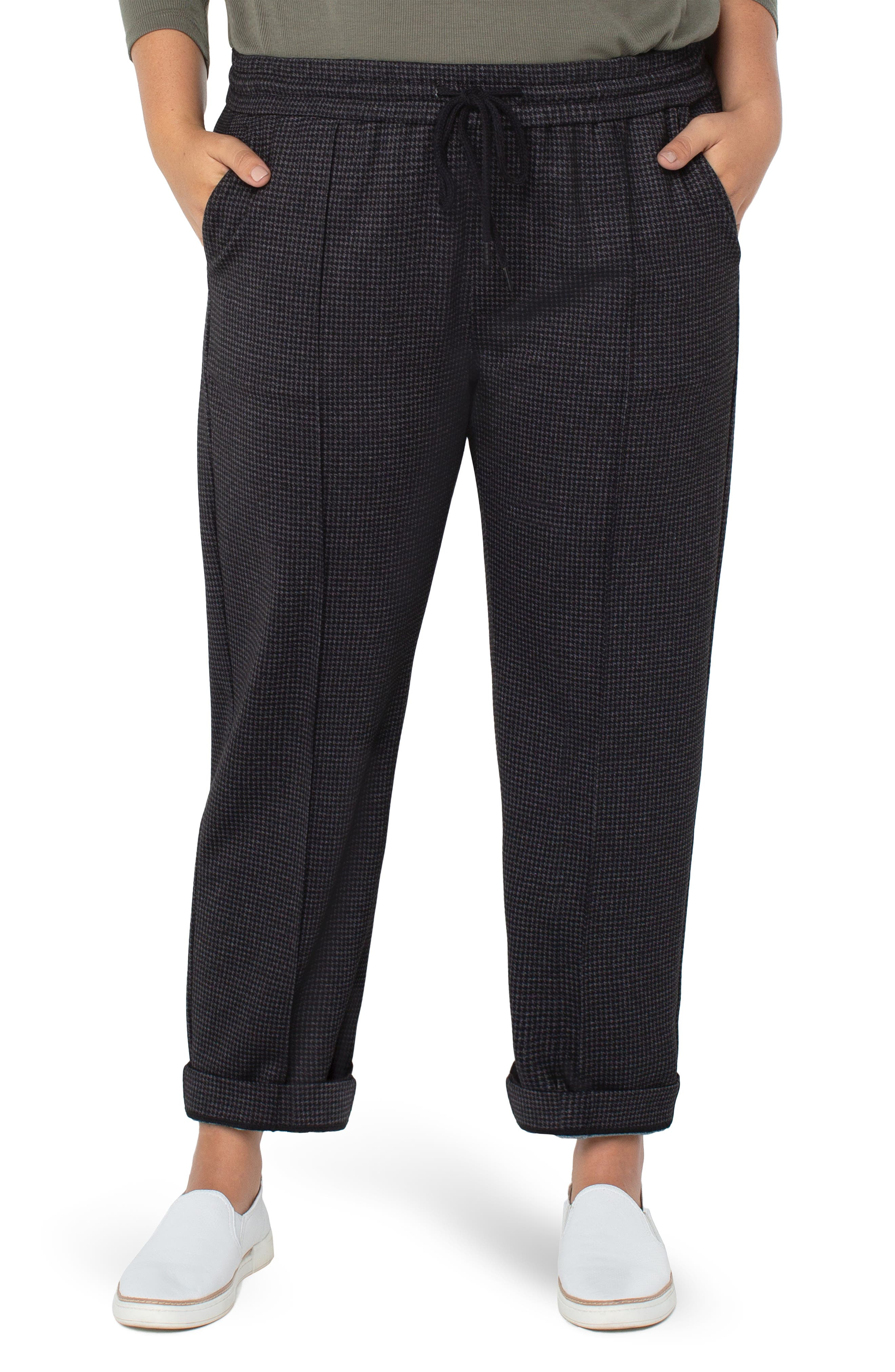 Pull On Ankle Trousers