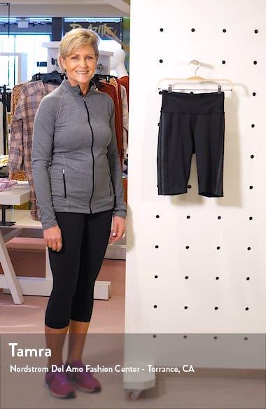 x Universal Standard 3-Stripes High Waist Shorts, sales video thumbnail